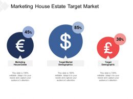 Marketing House Estate Target Market Demographics Target Demographic Cpb