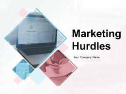 Marketing Hurdles Powerpoint Presentation Slides