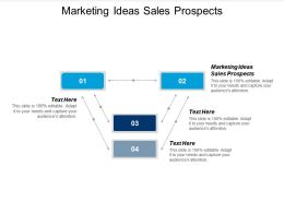 Marketing Ideas Sales Prospects Ppt Powerpoint Presentation Ideas Smartart Cpb