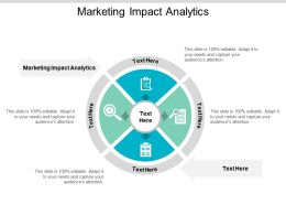 Marketing Impact Analytics Ppt Powerpoint Presentation Slides Objects Cpb