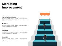 Marketing Improvement Ppt Powerpoint Presentation Icon Ideas Cpb