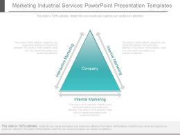 Marketing Industrial Services Powerpoint Presentation Templates