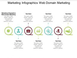 Marketing Infographics Web Domain Marketing Ppt Powerpoint Presentation Styles Template Cpb