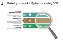 Marketing Information Systems Marketing Seo Target List Reports Marketing Cpb