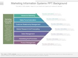 Marketing Information Systems Ppt Background