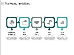 Marketing Initiatives Ppt Slides Visuals Cpb