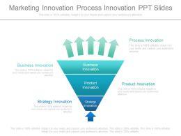 Marketing Innovation Process Innovation Ppt Slides