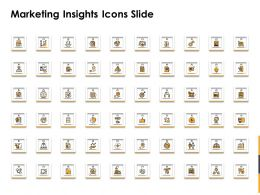 Marketing Insights Icons Slide Ppt Powerpoint Presentation Model Smartart