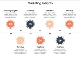 Marketing Insights Ppt Powerpoint Presentation File Introduction Cpb