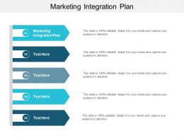 Marketing Integration Plan Ppt Powerpoint Presentation Ideas Graphics Example Cpb