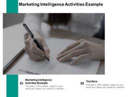Marketing Intelligence Activities Example Ppt Powerpoint Presentation Portfolio Cpb