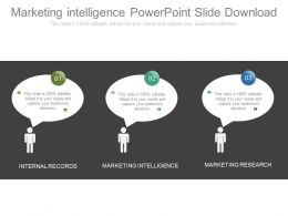 Marketing Intelligence Powerpoint Slide Download