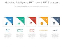 Marketing Intelligence Ppt Layout Ppt Summary