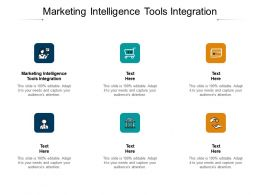 Marketing Intelligence Tools Integration Ppt Powerpoint Presentation Icon Show Cpb