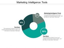 Marketing Intelligence Tools Ppt Powerpoint Presentation Styles Master Slide Cpb
