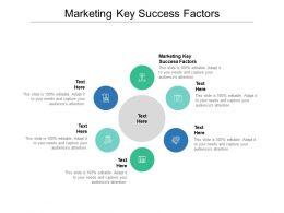 Marketing Key Success Factors Ppt Powerpoint Presentation Ideas Visual Aids Cpb