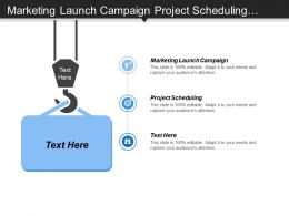 Marketing Launch Campaign Project Scheduling Leadership Development Employee Retention Cpb