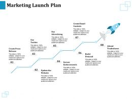 Marketing Launch Plan Attend Tradeshows Ppt Powerpoint Presentation Infographic Template