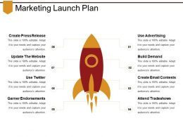 Marketing Launch Plan Powerpoint Show