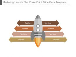 Marketing Launch Plan Powerpoint Slide Deck Template