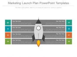 Marketing Launch Plan Powerpoint Templates
