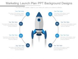 Marketing Launch Plan Ppt Background Designs