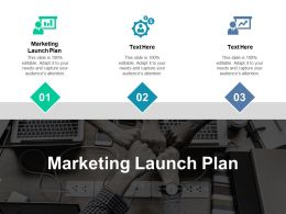 Marketing Launch Plan Ppt Powerpoint Presentation Ideas Deck Cpb