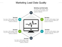 Marketing Lead Data Quality Ppt Powerpoint Presentation Inspiration Icons Cpb