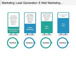 Marketing Lead Generation E Mail Marketing Management Development Programs Cpb