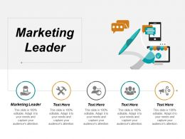 Marketing Leader Ppt Powerpoint Presentation Gallery Files Cpb