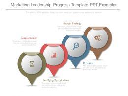 Marketing Leadership Progress Template Ppt Examples
