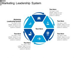 Marketing Leadership System Ppt Powerpoint Presentation Icon Visual Aids Cpb