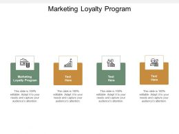 Marketing Loyalty Program Ppt Powerpoint Presentation Outline Shapes Cpb