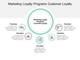 Marketing Loyalty Programs Customer Loyalty Ppt Powerpoint Presentation Professional Slides Cpb