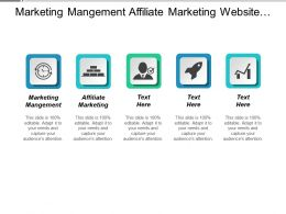 Marketing Management Affiliate Marketing Website Optimization Marketing Agencies Cpb