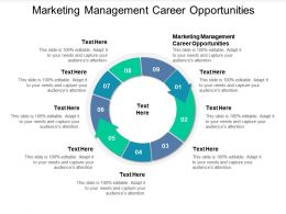Marketing Management Career Opportunities Ppt Powerpoint Presentation Inspiration Good Cpb