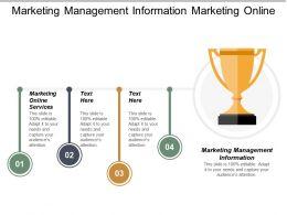 Marketing Management Information Marketing Online Services Marketing Info Cpb