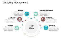 Marketing Management Ppt Powerpoint Presentation Gallery Slides Cpb