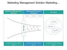 Marketing Management Solution Marketing Promotion Strategies Digital Marketing Cpb