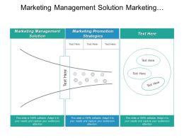 Marketing Management Solution Marketing Promotion Strategies Digital Marketing Cpb