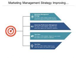 Marketing Management Strategy Improving Performance Management Cpb