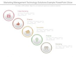 Marketing Management Technology Solutions Example Powerpoint Show