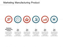 Marketing Manufacturing Product Ppt Powerpoint Presentation Inspiration Examples Cpb
