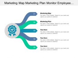 Marketing Map Marketing Plan Monitor Employee Network Traffic Cpb