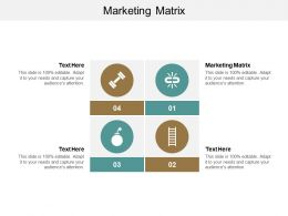 Marketing Matrix Ppt Powerpoint Presentation Icon Example Cpb