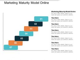 Marketing Maturity Model Online Ppt Powerpoint Presentation File Topics Cpb