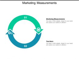 Marketing Measurements Ppt Powerpoint Presentation Icon Background Cpb