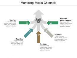 Marketing Media Channels Ppt Powerpoint Presentation Summary Brochure Cpb