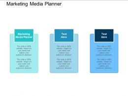 Marketing Media Planner Ppt Powerpoint Presentation Show Deck Cpb