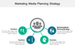 Marketing Media Planning Strategy Ppt Powerpoint Presentation Slides Templates Cpb